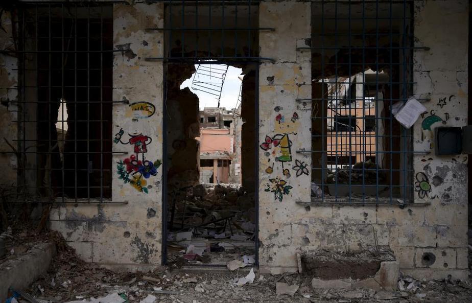 سلام بر شهر مقاومت پایتخت ویرانی ها