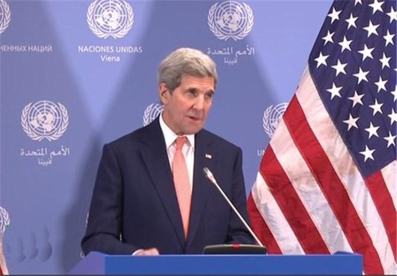 """کری مدعی توافق قریبالوقوع """"انتقال سیاسی قدرت"""" در سوریه شد"""