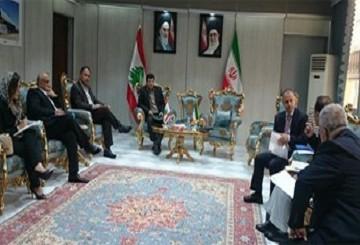 برای ارتقای سطح تجاری تهران-بیروت آمادگی داریم