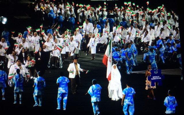 پرچم ایران بهانه جدید سعودیها برای جنجالسازی در ریو + عکس
