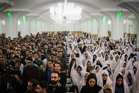ثبتنام ۲۵ هزار زوج در مراسم ازدواج دانشجویی