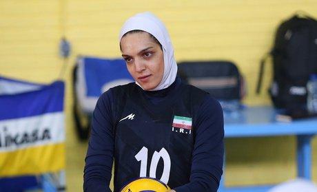 مائده برهانی اولین لژیونر تاریخ والیبال بانوان ایران شد