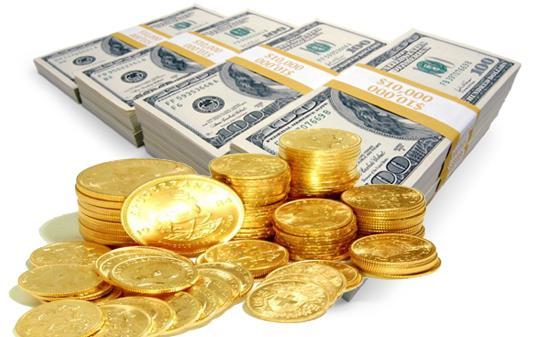 رشد اندک قیمت سکه و کاهش ۵ تومانی نرخ دلار در بازار+جدول