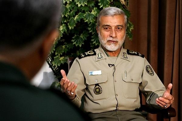 خداحافظی امیر صالحی بعد از پنجاه سال خدمت در ارتش/ قدیمی ترین عنصر نظامی در ارتش بار سفر بست