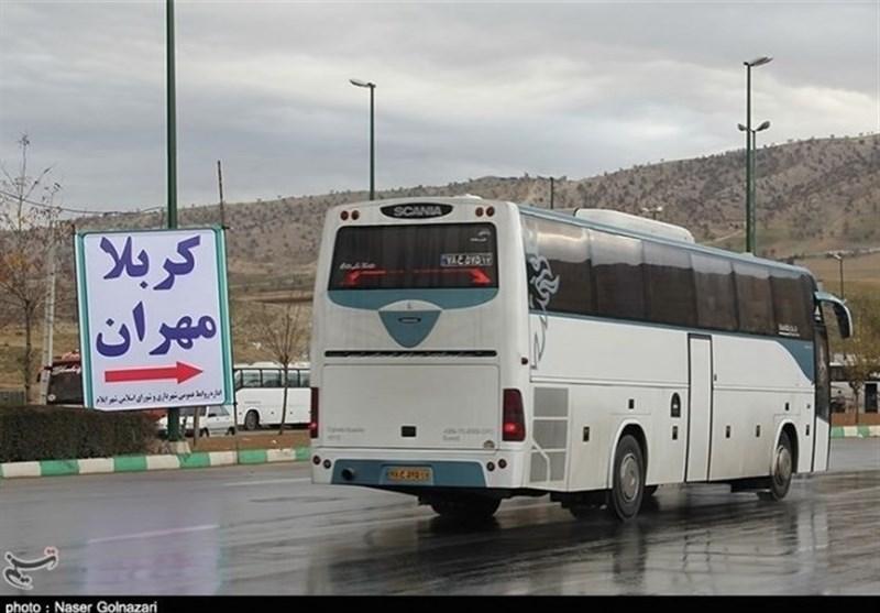 بلیت ۲۰۰ هزار تومانی اتوبوس مهران-تهران