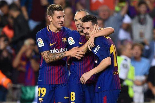 صعود آسان بارسلونا به یک چهارم نهایی کوپا دل ری