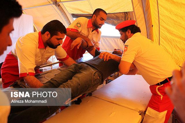 برگزاری مانور بزرگ بهداشت و درمان اضطراری و جستجو و نجات در ورامین