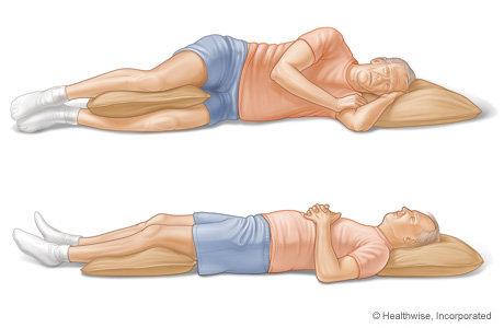 روشهای صحیح خوابیدن برای کاهش کمردرد