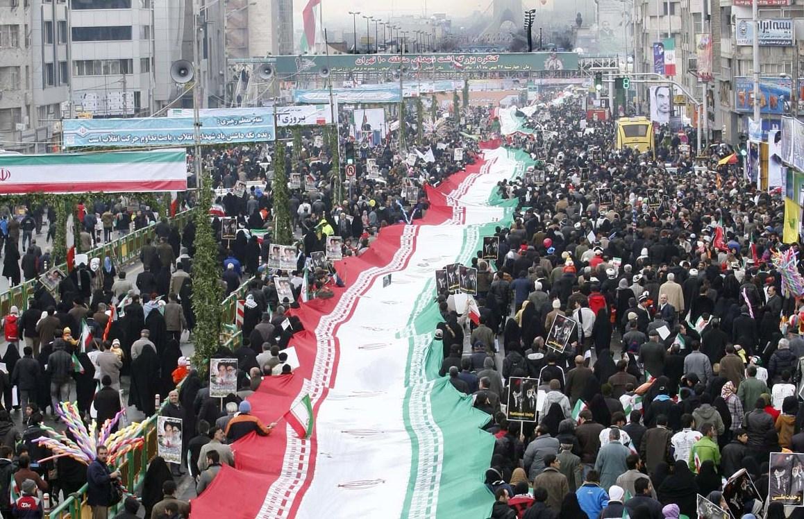 مسیرهای ۱۰گانه راهپیمایی ۲۲ بهمن در تهران