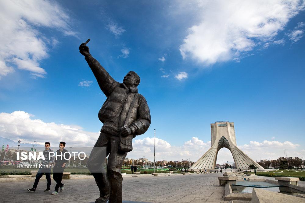 رکورد زنی هوای پاک در تهران همچنان تداوم دارد
