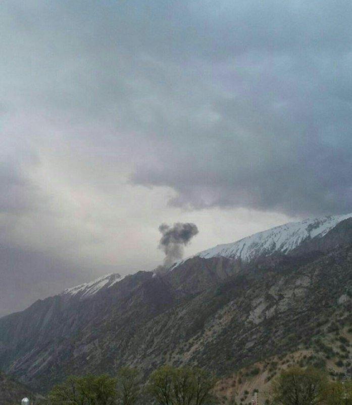 اعزام تیمهای تخصصی اورژانس و هلال احمر چهارمحال و بختیاری به محل سقوط هواپیما ترکیهای