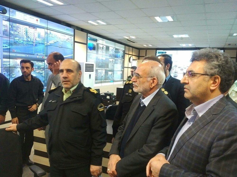 همه چیز تحت کنترل پلیس است/استقرار پلیس در ۶۱۶ نقطه از تهران