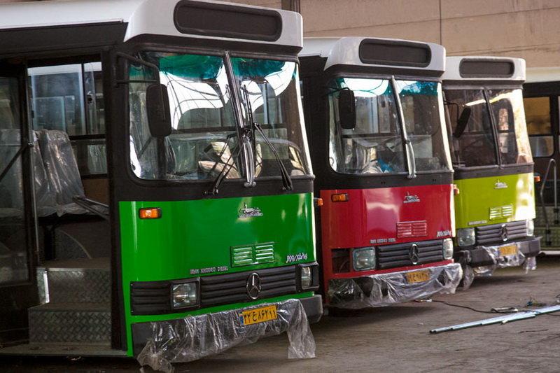 آمادگی اتوبوسرانی تهران به مناسبت بازگشایی مدارس