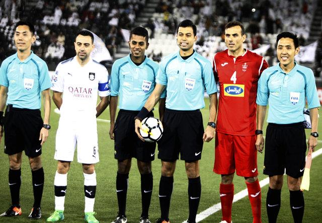 ژاوی و خلیلزاده در صفحه نخست روزنامه قطری + عکس