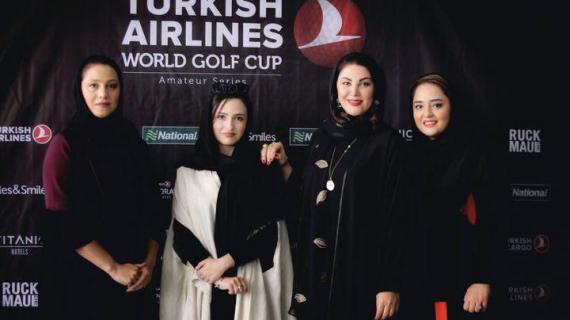 خانم های بازیگر ایرانی در مسابقه گلف ترکیش ایرلاینز + تصاویر