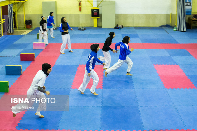 معرفی نفرات برتر انتخابی تیم کاراته دختران دانشجو