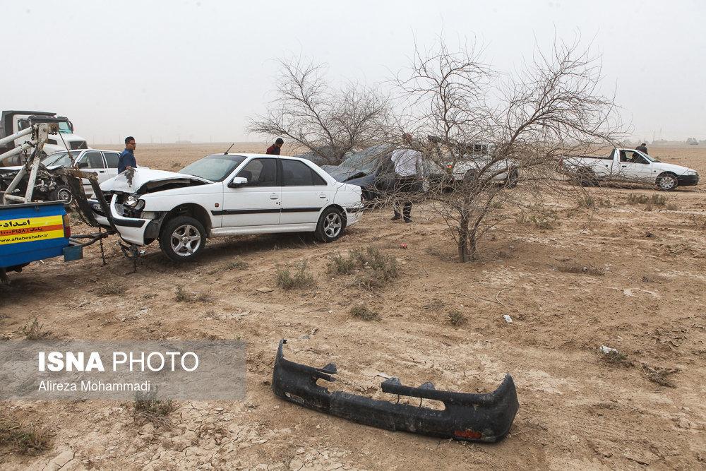 ۵ کشته و زخمی در تصادف سمند در مسیر «ایلام – کرمانشاه»