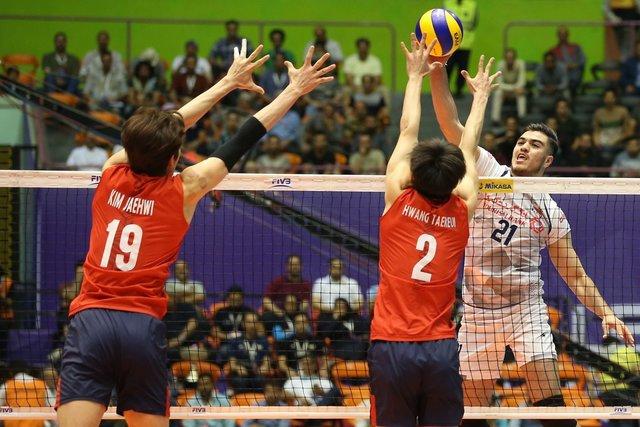 میزبانی از کره جنوبی در آغاز هفته پنجم/ ست نخست برای ایران