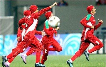 پیروزی پرگل دختران فوتبالیست ایران در مقدماتی قهرمانی آسیا