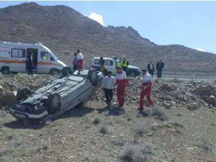 واژگونی خودرو حامل اتباع افغان