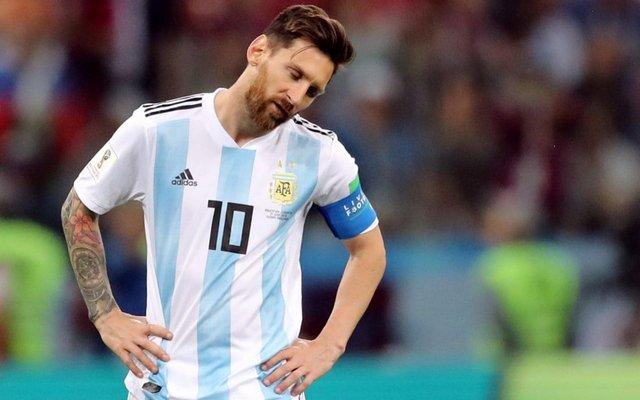 خداحافظی موقت مسی از تیم ملی آرژانتین