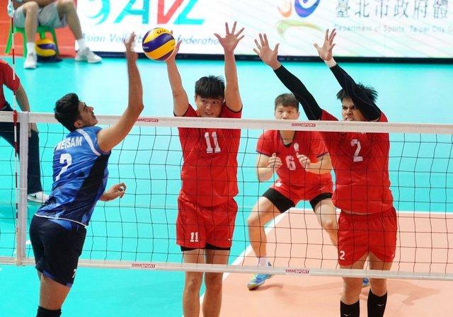 والیبال ایران فینال برده را به قطر باخت