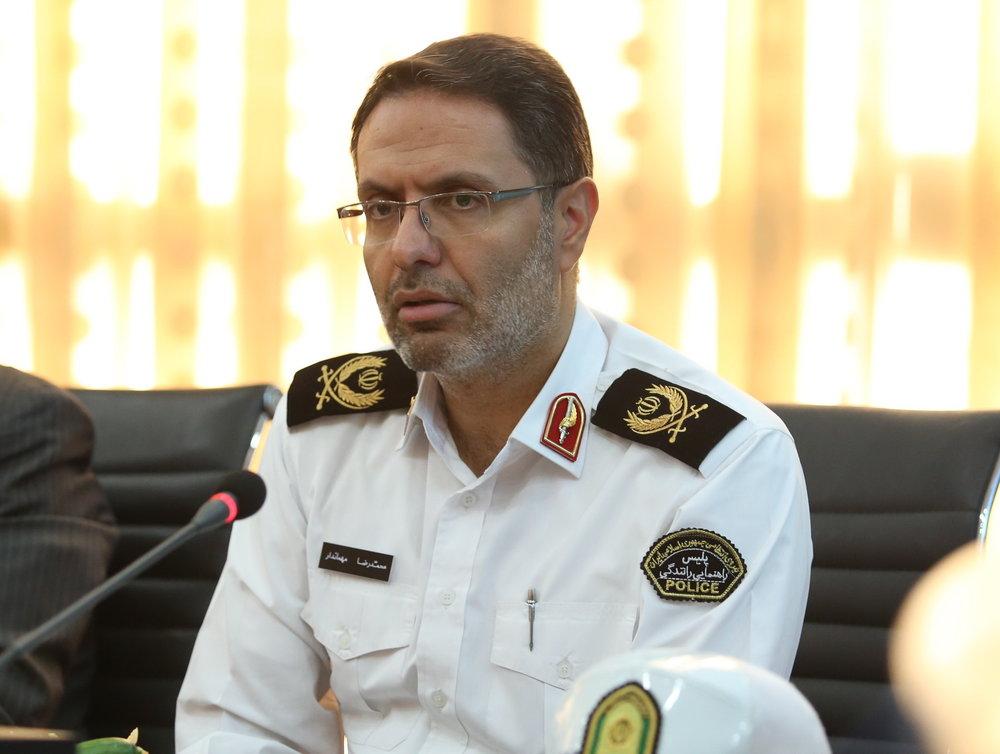 توضیحات تکمیلی رییس پلیس راهور تهران بزرگ درباره شناور شدن ساعت کاری کارمندان