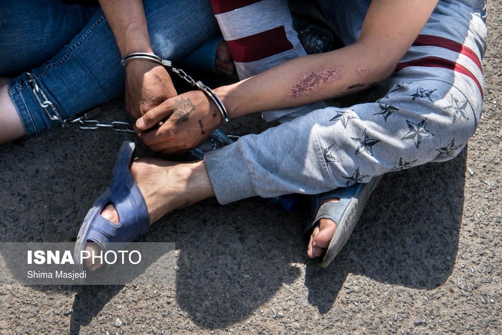 دستگیری ۳ متهم فراری در پلدشت