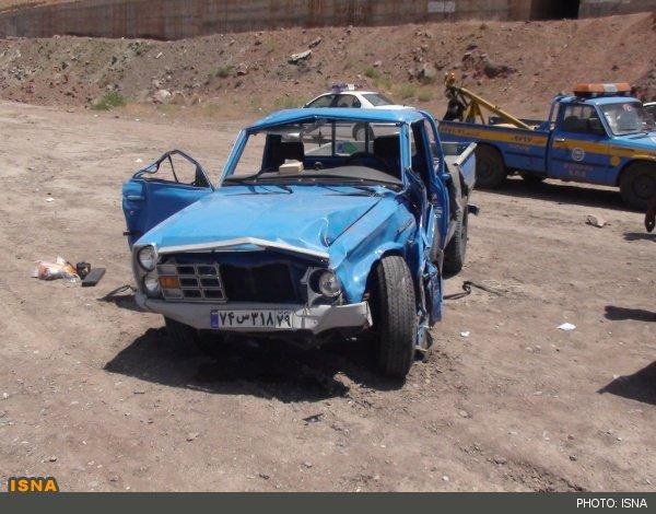 تصادف مرگبار در آزادراه ساوه تهران ۵ کشته و ۳ مصدوم بر جای گذاشت