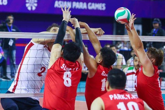 والیبال نشسته مردان ایران فینالیست پاراآسیایی شد/ بسکتبال باویلچر مردان در نیمه نهایی