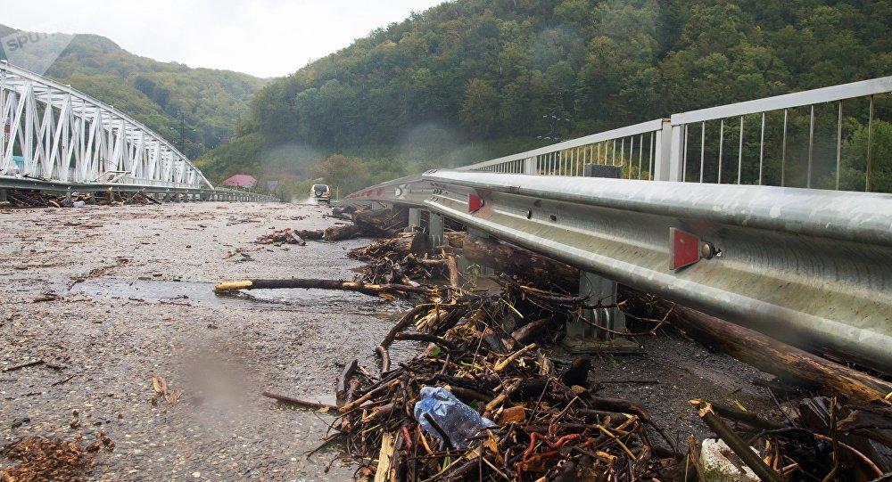 ۹ کشته و زخمی در سیلاب روسیه