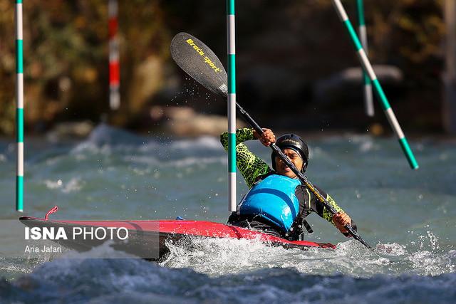 رقابتهای اسلالوم قهرمانی آسیا/ چهارمی قایقرانهای ایران در دو بخش جوانان و زیر ۲۳ سال