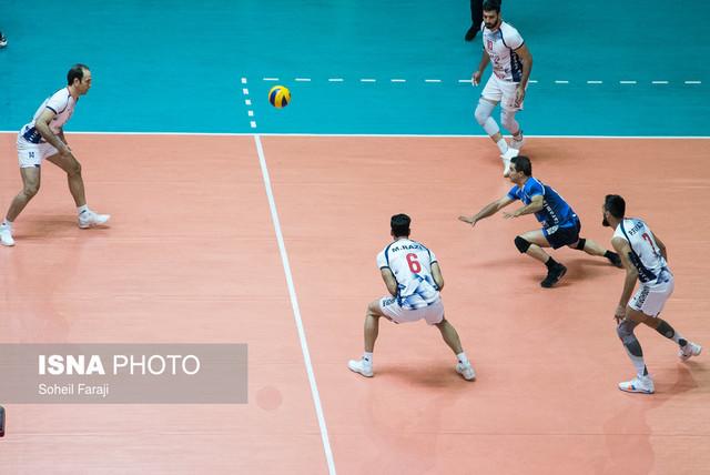 دیدار تیمهای والیبال شهرداری ارومیه و شهرداری ورامین