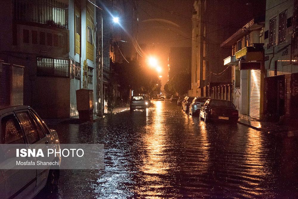 بارندگی بالاتر از حد انتظار در مهر و آبان