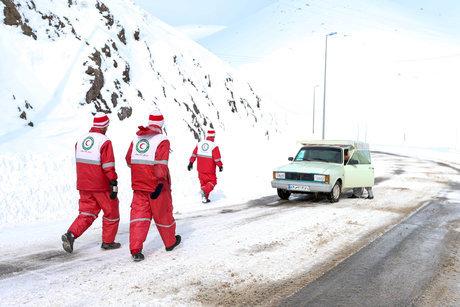 بیش از ۵۸۰۰ ماموریت امدادی از ابتدای طرح امداد و نجات زمستانی تا کنون