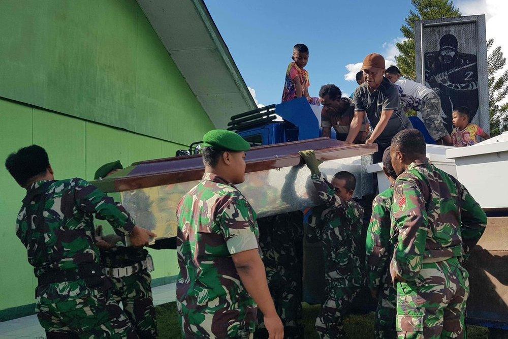 حمله مرگبار افراد مسلح به کارگران اندونزیایی
