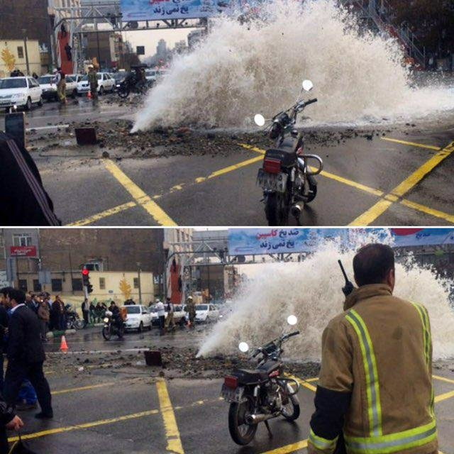 پلیس: از تردد غیرضروری در محدوده میدان توحید خودداری کنید