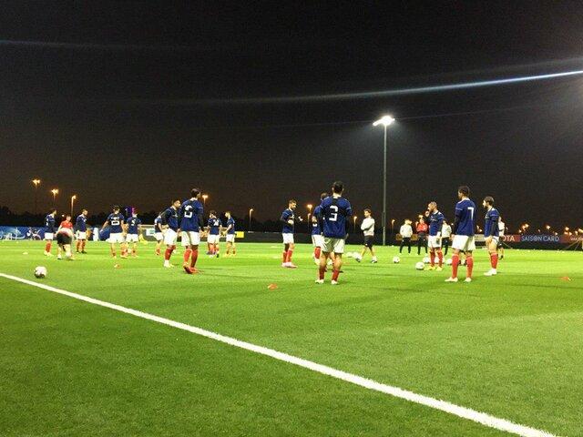 تیم ملی بدون مصدوم تمرین کرد