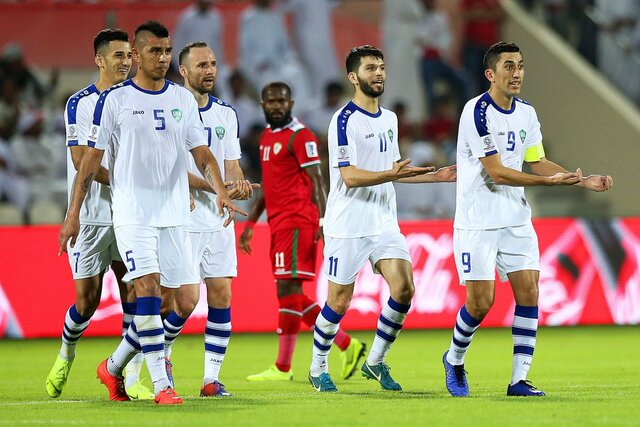 شکست عمان برابر ازبکستان