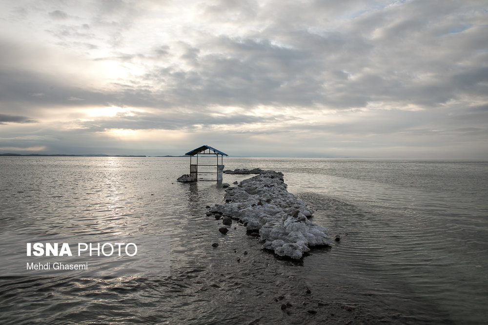 افزایش ۲۸۶ کیلومتری وسعت دریاچه ارومیه