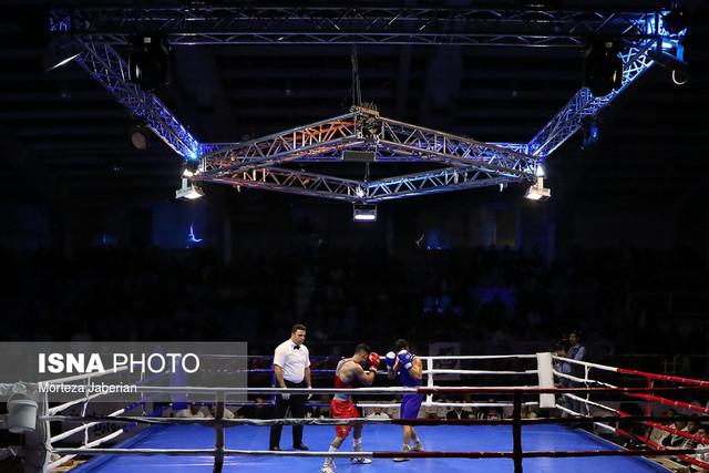 پیروزی بوکسورهای سنگین وزن ایران در روز دوم قهرمانی جهان