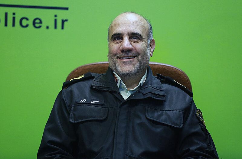 پلیس در جمهوری اسلامی ایران خادم مردم است