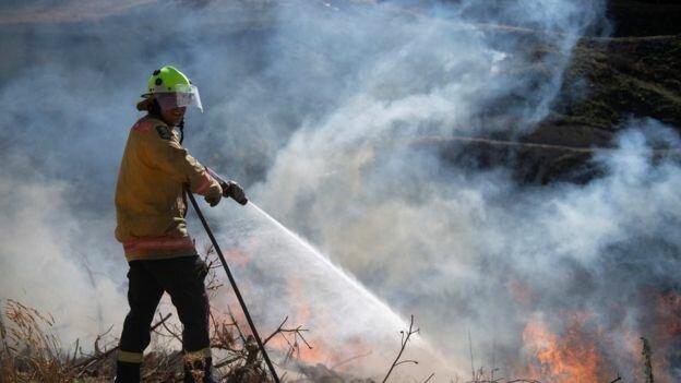 تخلیه هزاران نفر با پیشبینی آتشسوزی شدید در نیوزیلند