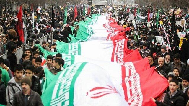 حضور جامعه ورزش کشور در مراسم راهپیمایی ۲۲ بهمن
