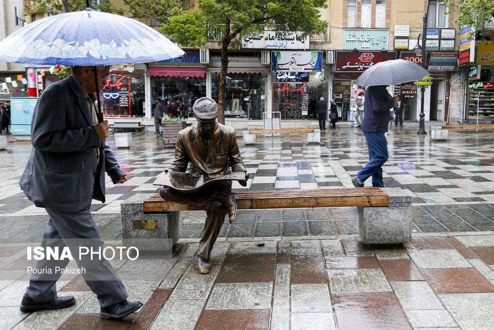 ورود سامانه بارشی جدید از شنبه / فردا تهران بارانی میشود