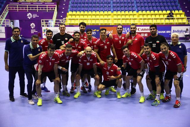 شکست تیم ملی هندبال ایران در بازی دوستانه