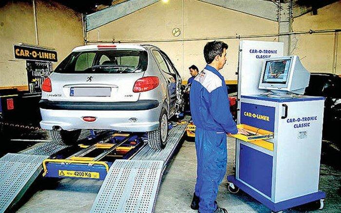 صدور معاینه فنی برای ۳۵۶ هزار خودروی پایتخت/کاهش ۱۳درصدی مراجعات مجدد