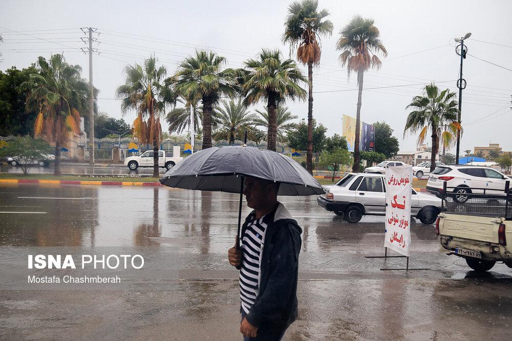 ورود سامانه بارشی جدید از شمال غرب کشور/ تداوم بارش شدید در خراسانهای رضوی و جنوبی