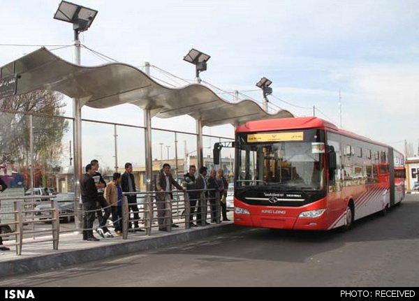 مسافرگیری در ۳ ایستگاه اتوبوس خط ٧ به حالت عادی بازگشت