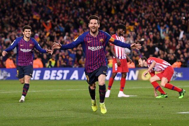 بارسلونا به قهرمانی در لالیگا نزدیکتر شد